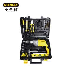 史丹利 720w 13mm冲击钻金属齿轮箱套装;STDH7213V