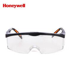 霍尼韦尔(Honeywell) 眼镜  S200A亚洲款,防冲击,黑色镜框,透明镜片,防雾防刮擦;100110