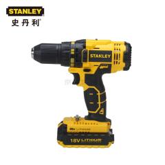 史丹利 18V 锂电充电式电钻起子(吹塑箱)2X1.3Ah电池;SCD20C2K