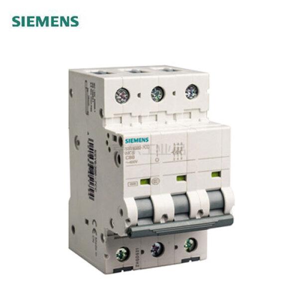 西门子 微型断路器 32A 3P C 10kA;5SY4 3P C32