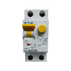 伊顿穆勒 电子式过载保护漏电断路器PLD9,25A,C,1N,30mA,AC,瞬动型;PLD9-25/1N/C/003