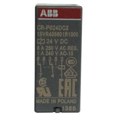 ABB PCB 继电器 插拔式中间接口继电器;CR-P024DC2