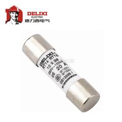 德力西电气 圆筒形帽熔断器 RT14 AC380V/500V 16A Φ22X58