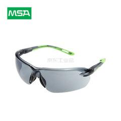 MSA梅思安 防护眼镜 炫酷-G,黑色镜片,浅绿色镜脚;10167734