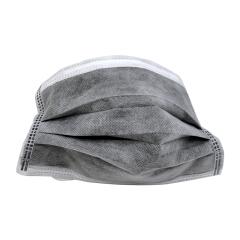 冠桦 一次性活性炭四层无纺布口罩(灰色);E1116