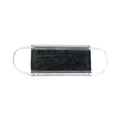 耐呗斯 一次性活性炭四层平面口罩(非独立包装)50只/盒;NBS9001C