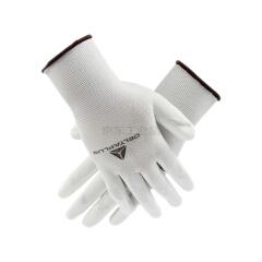 代尔塔 无硅PU精细操作手套 VE702;201702-白色-9