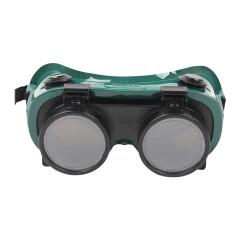 MSA梅思安 焊工眼镜 WeldGard,绿色框架,4孔,50毫米,5号焊接镜片;9913224