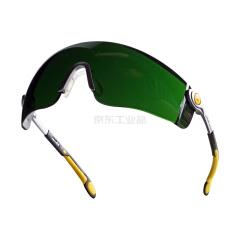 代尔塔 安全眼镜 舒适型,焊接用,T5 LIPARI2 T5;101012-黑色