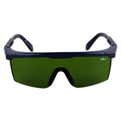 罗卡 防护眼镜 黑框,IR3.0(电焊片);LK-AL026-3-B