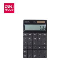 得力(deli) 桌面计算器(黑);1589P黑