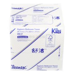 金佰利 舒洁Kleenex 2层200抽 商用袋装卫生纸厕纸 200张/包;0382-20