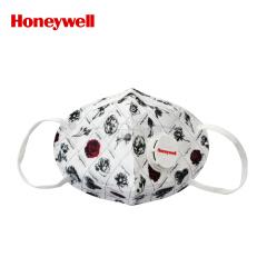 霍尼韦尔(Honeywell) 靓呼吸凡尔赛玫瑰口罩带呼吸阀,5片/盒,48盒/箱;RS1