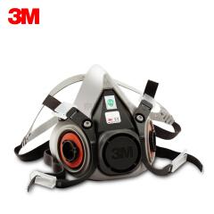 3M 6200 双盒防毒半面具(中号),需搭配配件使用;6200