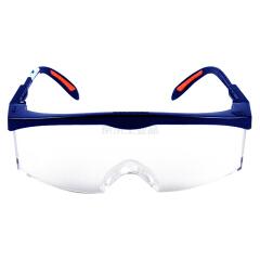 霍尼韦尔(Honeywell) 眼镜 S200A亚洲款,防冲击,蓝色镜框,透明镜片,防雾防刮擦;100100