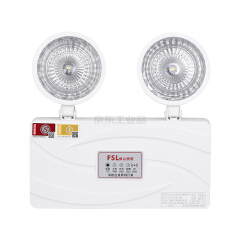 佛山照明 双头应急灯,经典二代系列全塑圆形;F-ZFZD-E3W-228A2 641