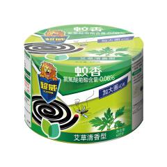 立白 超威微烟蚊香(艾草加大盘)40盘/桶*18,40盘/桶,18桶/箱;6920174761535