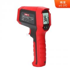 优利德 红外测温仪32~45°C,精度±0.3℃,屏闪报警,三防;UT309H