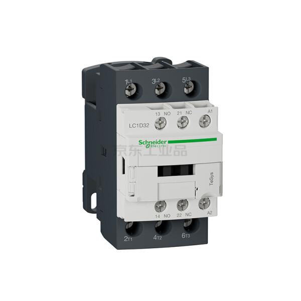 施耐德电气 国产TeSys D系列三极交流接触器,32A,220V,50/60Hz;LC1D32M7C