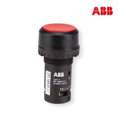 ABB CP1平头复位型按钮(不带灯型),红色;CP1-10R-01