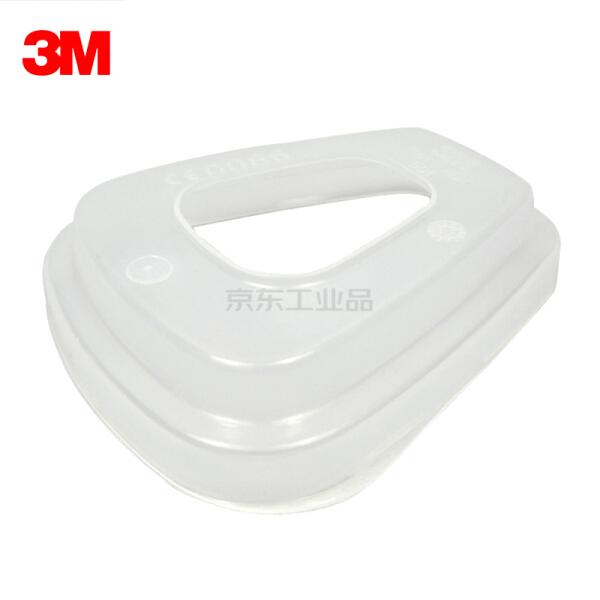 3M 501 滤棉盖,适配6100,6200半面具;XF003814449
