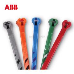ABB 耐候性尼龙6.6扎带-各色俱全,-40-85℃,100个/包;TY525M-CLRS