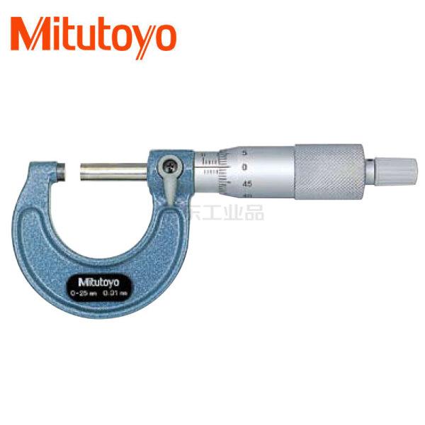 三丰(Mitutoyo) 外径千分尺0-25mm/±2μm;103-137