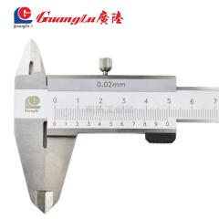 广陆 开式四用游标卡尺,量程:,0-150;141-122