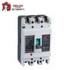 德力西电气 塑壳断路器;CDM1-125L/3300 100A