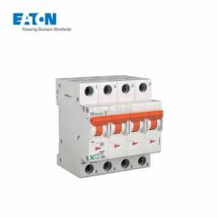 伊顿穆勒 电子式过载保护漏电断路器PLD10,20A,D,1N,30mA,AC,瞬动型;PLD10-20/1N/D/003