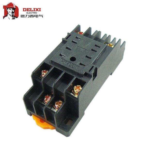 德力西电气 小型继电器 底座;CDZ9-52P 座