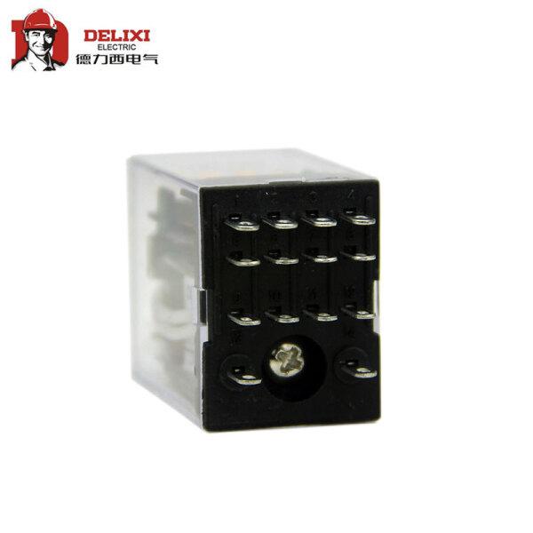 德力西电气 小型继电器;CDZ9-52PL (带灯)AC220V