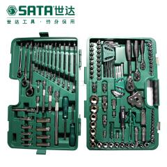 世达 128件6.3X10X12.5mm系列汽车维修综合套筒组套;09014G