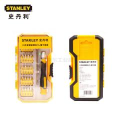 史丹利 23件精密螺丝批+镊子组-史丹利;STCT20023B