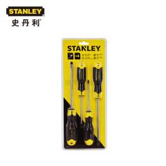 史丹利 4件套铬钒钢胶柄螺丝批;STHT65199-8