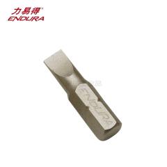 力易得 6.3mm系列25mm一字旋具头3mm;E6811