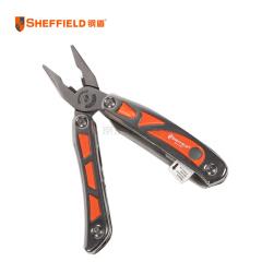 钢盾(SHEFFIELD) 12合1不锈钢多用钳,6个/盒,6盒/箱;S041003
