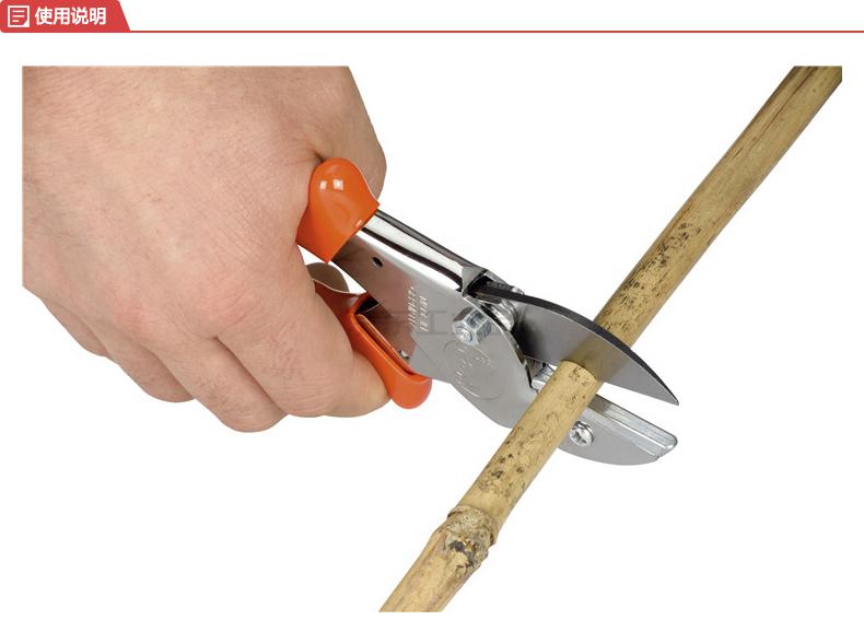 狮牌(LOWE) 德国原装尼龙绳剪刀/工业胶条汽车胶条铁砧剪刀;1105Y(涂层)