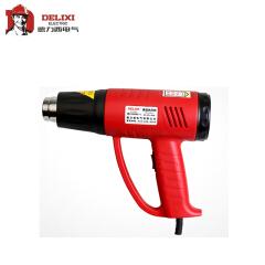 德力西电气 热风枪 2000W 红黑配色;DHCHG12000