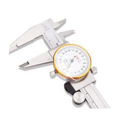 上工 不锈钢带表卡尺,量程:100;AB0240102