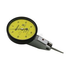 三丰(Mitutoyo) 杠杆百分表,量程:0-0.8,分度值0.01;513-404-10E