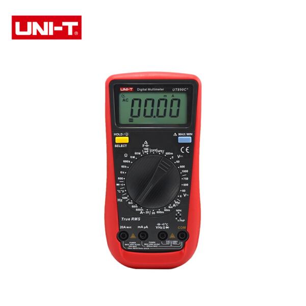 优利德 新型数字万用表;UT890C+