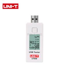 优利德 USB充电电量测试仪,100台/箱;UT658
