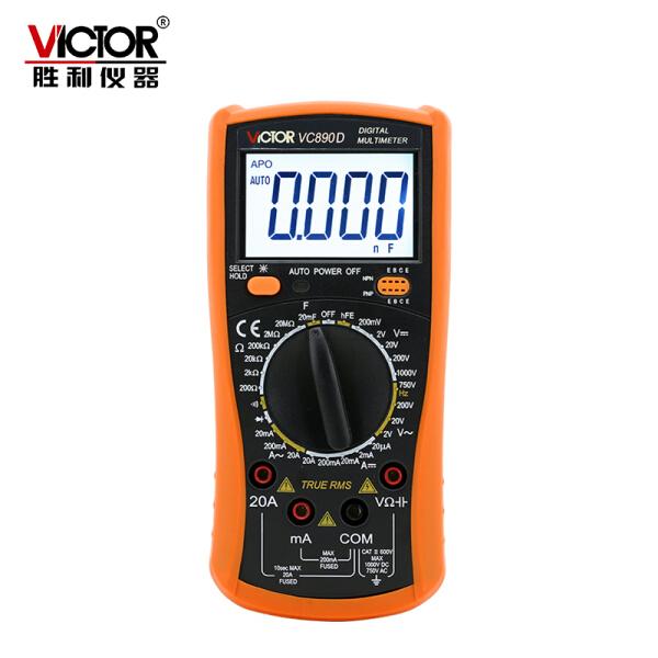 胜利仪器(victor) 数字万用表;VC890D