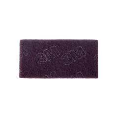 3M 7521C 百洁布60片,紫色,60片/箱;7521C 100mmX200mm