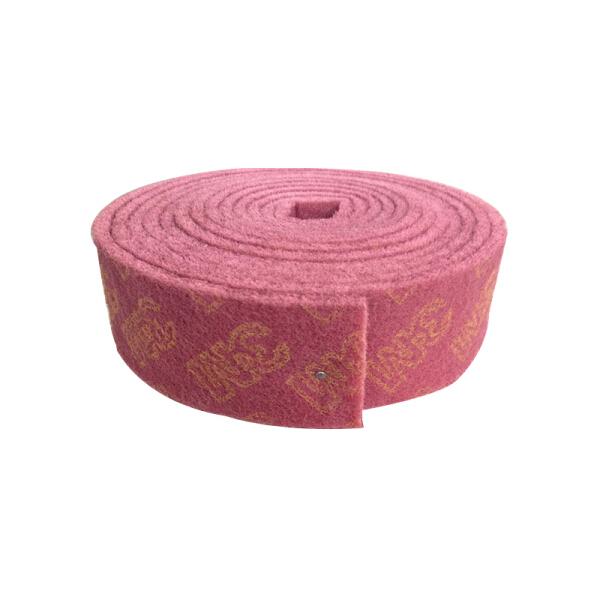3M 7447 工业百洁布,小卷,80*6000mm,红;XN002144774-8cmX6m