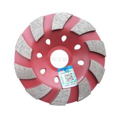 小蜜蜂工具 云石片100mm大结块碗磨红色;XMF012
