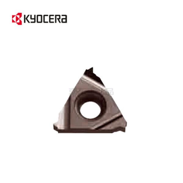 京瓷 60°公制外螺纹加工用车削刀片(带修光刃),5片/盒;22ER450ISOPR1115