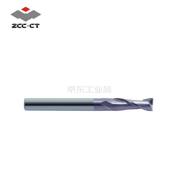 株洲钻石 整体硬质合金平头立铣刀;GM-2E-D4.0 KMG303