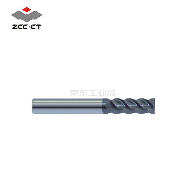 株洲钻石 高性能整体硬质合金平头立铣刀;PM-4E-D8.0 KMG405